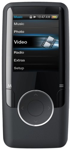 Coby MP601 4 GBLK 1.4 Inch Video MP3 Player with FM 4  GB Flash Memory  Black