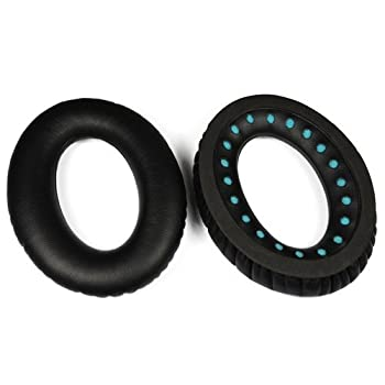 Itis Replacement Earpad Cushions Compatible For Bose Quietcomfort 2 Qc2,quietcomfort 15 Qc15,quietcomfort 25 Qc25, Quietcomfort 35 Qc35, Soundtrue,ae2, Ae2i, Ae2w Headphone With Itis Headphone Cable Clip 3