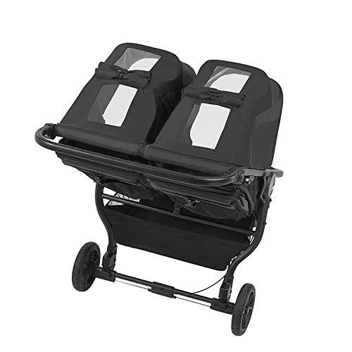 41gHHCI92EL - Baby Jogger City Mini GT2 Double Stroller, Jet