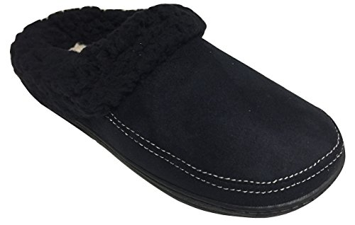 Black Slipper Clog Memory Dearfoams Terry Foam Women's Ex7SqwXY