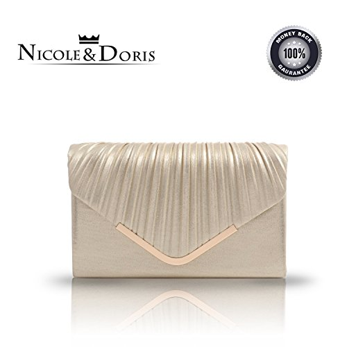 Nicole & Doris 2016 new fashion Faimex-Elegante da matrimonio, evening bags-Borsa a tracolla