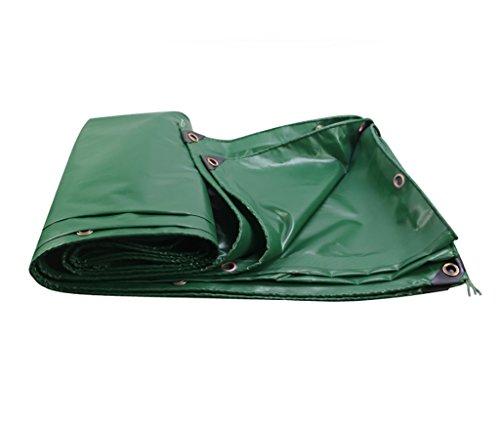 トラブルたっぷりずんぐりした雨布厚い断熱テント防水布雨布防水布厚いプラスチックシート様々なサイズのパンチングロープキャンバス (サイズ さいず : 4 * 5m)