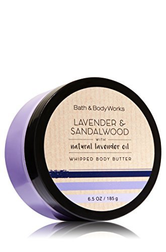 Bath & Body Works 6.5 Ounce Whipped Body Butter Lavender & Sandalwood