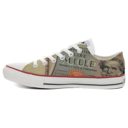 Schuhe old Star Low Slim Converse Customized Schuhe All personalisierte Handwerk fangled 0z45qgw