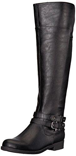 LifeStride Women's Delilah Equestrian Boot, Black, 7.5 M US by LifeStride (Image #1)