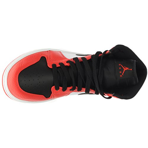 Jordan Nike Air Mens 1 Retrò Alta Max Arancio / Nero Scarpa Da Basket 8,5 Uomini Degli Stati Uniti