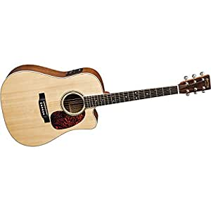 martin dc160gte acoustic electric guitar with hardshell case musical instruments. Black Bedroom Furniture Sets. Home Design Ideas