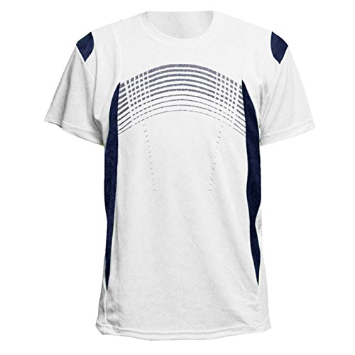 Mens Short Sleeve Performance Shirt Lightweight Athletic Running Sport Dry fit Tee Shirts S-3XL