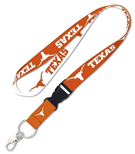 - NCAA Texas Longhorns Lanyard with Detachable Buckle