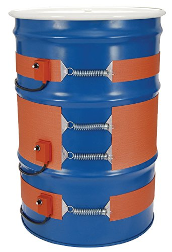 Adjust Range (Tempco DHR00150 Silicone Rubber Metal Drum Heater, 5 gal, 3