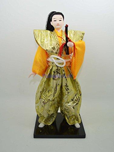 "Japanese Warrior Doll - Samurai- 30cm/11.8"" tall - Asian Doll - GW001"
