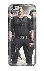 Iphone 6 Plus Case Cover - Slim Fit Tpu Protector Shock Absorbent Case (sylvester Stallone)