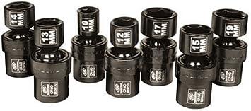 Ingersoll Rand SK3M7U 3//8-Inch Drive 7-Piece Metric Universal Impact Socket Set