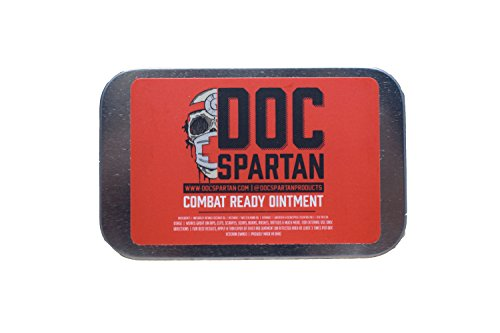 Doc Spartan Combat Ready Ointment As Seen On Shark Tank … (Big Tin)