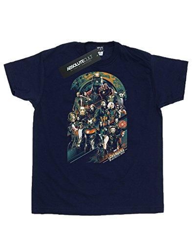 Infinity Marin shirt Avengers Team T Bleu Homme War 4xwH5Hq0Fa