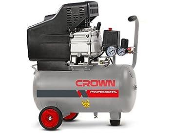 Compresor de aire Crown ct36028 2HP 25L 2800RPM 8 bar 25L 21 kg: Amazon.es: Bricolaje y herramientas