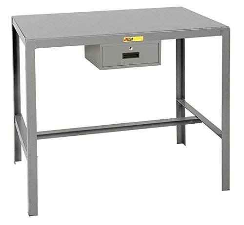 "Little Giant MT1-2436-36-ED Steel Top Machine Table, 24"" ..."