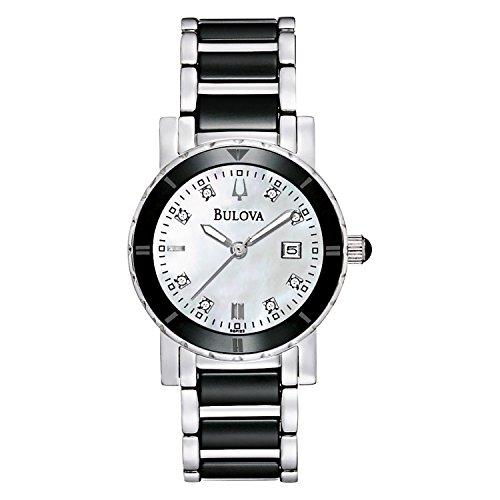 Bulova Diamond Accent Watch (Bulova Women's 98P122XG Quartz Diamond Accent 30mm Watch (Certified Refurbished))