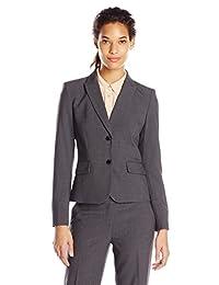 Calvin Klein Women's Two-Button Suit Jacket
