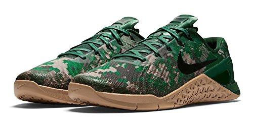 Nike Heren Metcon 3 Trainingsschoen Zwart / Zwart - Barokbruin