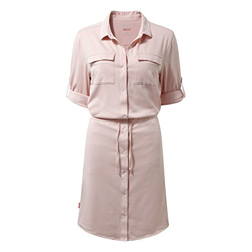 Da Craghoppers Daku Blossom Kleid NosiLife Pink 51qpq0RwPS