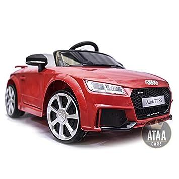 Audi TT RS 12v Licenciado con mando - Coche eléctrico para niños ...
