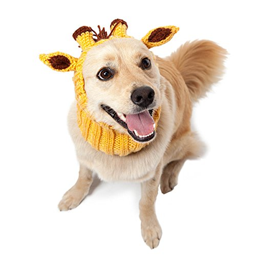 Zoo Snoods - The Original Knit Giraffe Dog Snood