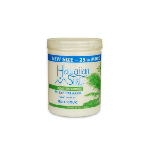 - Hawaiian Silky No Lye Mild Relaxer, 20 oz | Signature Collection Creme Conditioning