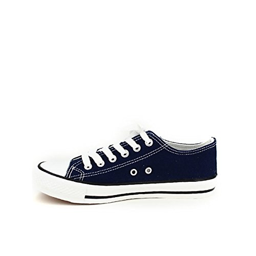 CENVERS Toile Baskets Marine Cendriyon Chaussures Color Femme 6xTOqqS