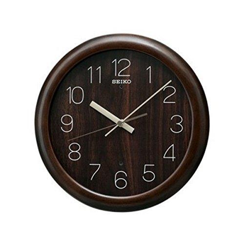 セイコー ピクシス デジタル 電波 掛け時計 KX201B ダックブラウン B074K2MJ6K