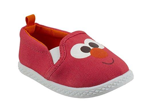 Sesame Street Elmo Prewalker Infant Baby Shoe, Slip on, Red, Size 5