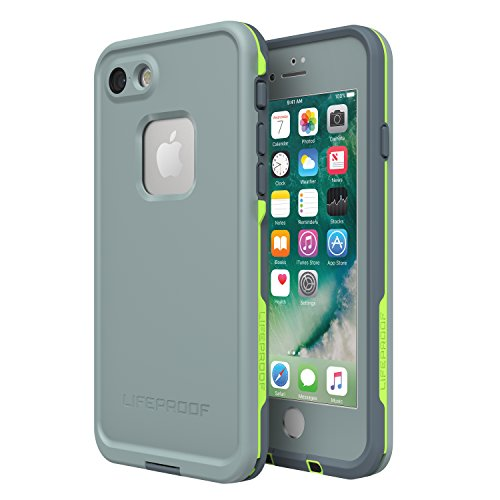 Lifeproof 77-56789 FRĒ SERIES Waterproof Case for iPhone 8 & 7 (ONLY) - Retail Packaging - DROP IN (ABYSS/LIME/STORMY WEATHER)