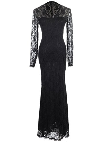 Anna-Kaci-Womens-Black-Gothic-Floral-Lace-Ruffle-Long-Sleeve-Maxi-Dress-Gown