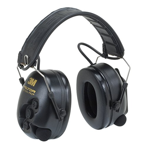 (3M Peltor TacticalPro Communications Headset MT15H7F SV, Hearing Protection, Ear Protection, NRR 26 dB Excellent for heavy equipment operators, airport workers, shooting and industrial workers)