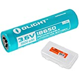 Olight 3600mAH Customized 18650 Rechargeable Battery for S30R II, R20, S2R and other Flashlights