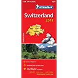 Switzerland 2017 (Michelin National Maps)