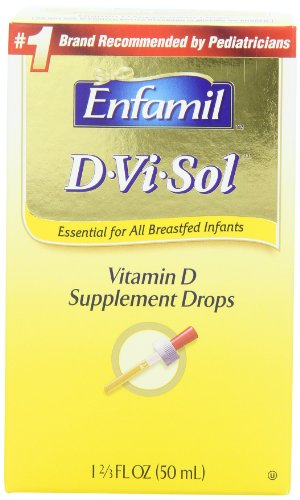 Enfamil D-vi-sol, Vitamin D 50 ml (Pack of 2), Baby & Kids Zone