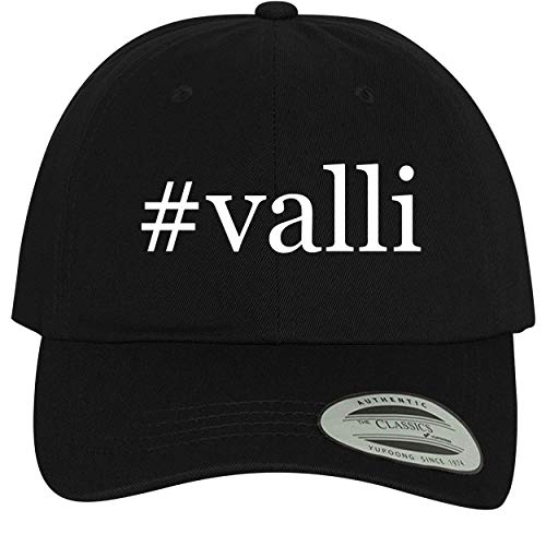 Clayton 4 Panel - BH Cool Designs #Valli - Comfortable Dad Hat Baseball Cap, Black
