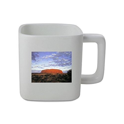 AUSTRALIA NORTHERN TERRITORY ULURU NATIONAL PARK ULURU AYERS ROCK 11oz square shaped mug