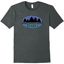 Idaho Souvenir Tshirt I love Nature Outdoors