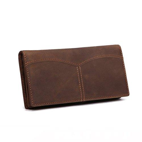 medium open open wallet wallet Men's NHGY medium long NHGY Men's wallet leather long wallet Men's NHGY leather leather qRwCzx6U