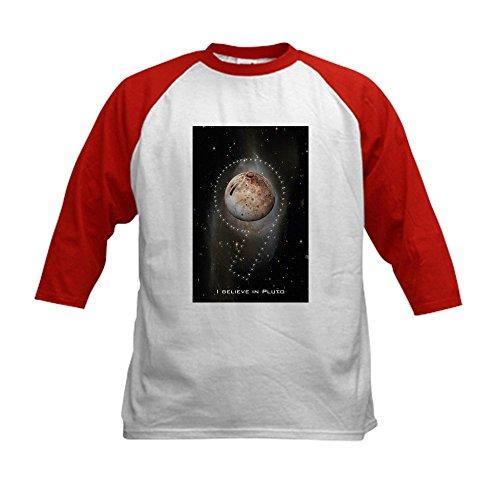 CafePress - I believe in Pluto Kids Baseball Jersey - Kids C