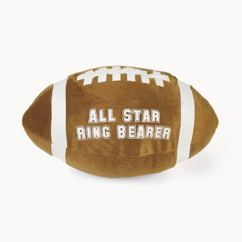 Plush Star Ring Bearer Football