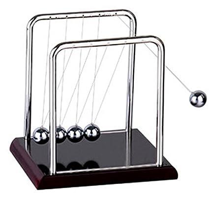 amazon com newton pendulum simple design newton ball steel balance