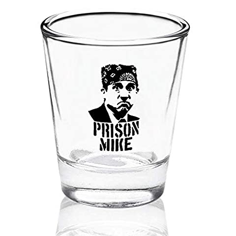 The Office Merchandise Shot Glass Gift Set – Prison Mike, Dunder Mifflin, & Bears Beets Battlestar Galactica – The…