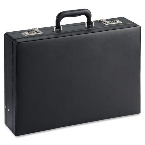 17-1//2x4x12-1//2 Sold as 1 Each Lorell Expandable Attache Case 17-1//2x4x12-1//2 Expandable Attache Case Black Black 17-1//2x4x12-1//2