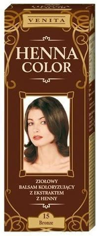 Henna Color 15 Braun Bálsamo Capilar Tinte Para Cabello ...