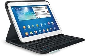 Logitech Ultrathin Keyboard Folio - Funda con teclado QWERTY para Samsung Galaxy Tab 3 10.1