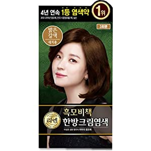 [LG] ReEn Heukmobichaek Oriental Cream Hair Dye (Light Brown) – 3 Treatments