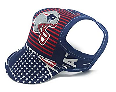 Dog Hat - New England Patriots Sports Fabric